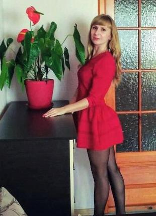 Ефектное платье от итальянского бренда miu miu