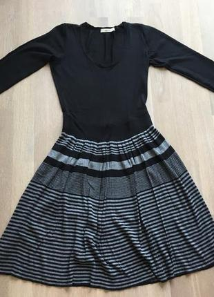 Oasis платье, с плиссированная юбкой. s