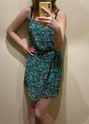 Супер сукня з квітковим принтом / отличное летнее мини-платье в цветочек