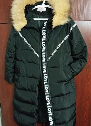 Пуховик одеяло с натуральным мехом; пальто; длинный пуховик с надписями