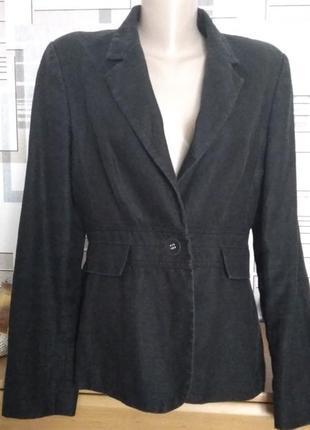 Очень классный льняной пиджак, размер м