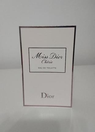 "Christian dior miss dior ""cherie''"