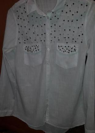 Нарядная рубашка, блуза