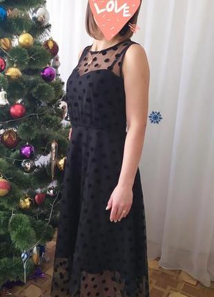 Супер плаття в горошок