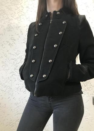 Кашемировая куртка полупальто vintage