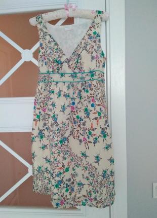 Promod цветочное платье в стиле прованс