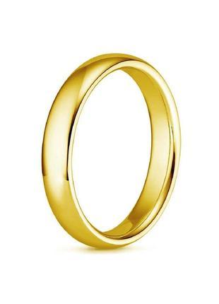 Обручальное кольцо унисекс abaccio k505 из нержавеющей стали 316l