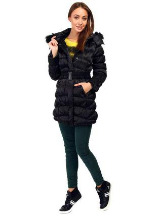 Пуховое пальто deha ( италия)