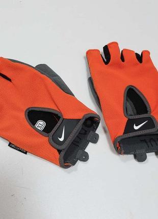 Nike мужские перчатки для зала фитнес