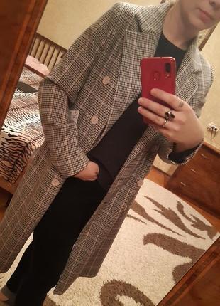 Пальто жіноче reserved оверсайс