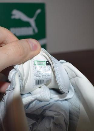 Кеды puma basket натуральная кожа3 фото