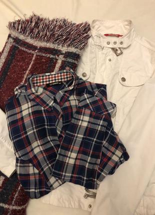 Рубашка/ куртка/ шарф
