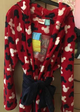 Флісовий халат для хлопчика