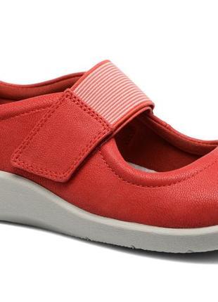 Clarks кларкс женские туфли на плоской подошве р-38