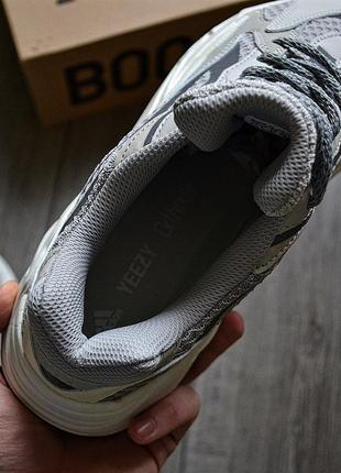 Adidas yeezy boost 700 v2 static шикарные мужские кроссовки адидас5 фото
