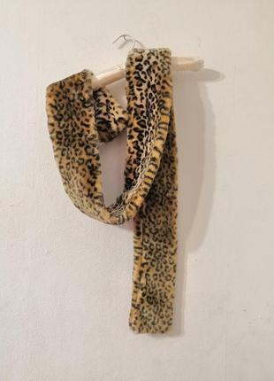Шарф в леопардовый принт от bershka.