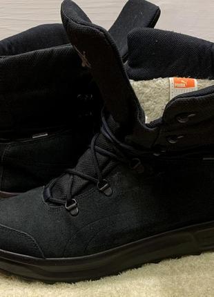 Зимние термо ботинки puma gore-tex размер 46 оригинал