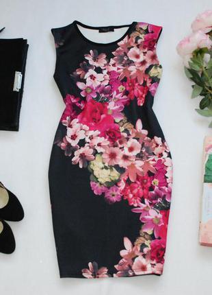 Мегаскидки, распродажа, большой выбор...красивое неопреновое платье по фигуре m/l
