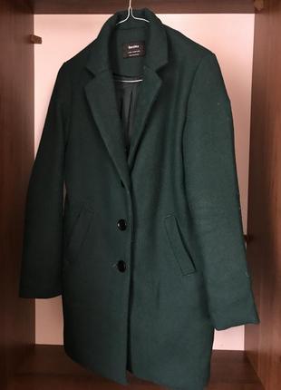 Пальто осіннє bershka
