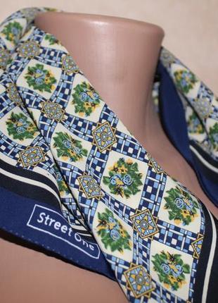 Женский платочек, для шеи, для сумки