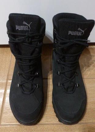 Термоботинки ботинки женские мужские черевики жіночі чоловічі puma caminar iii gtx goretex