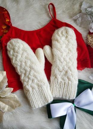 Теплі двійні варішки рукавиці landsend.