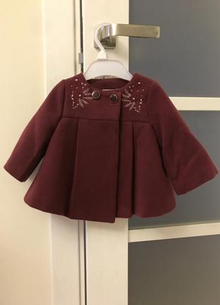 Пальто з вишивкою