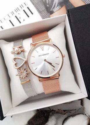 Набор: часы и браслет, годинник в упаковке