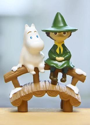Фигурка снусмумрик муми тролль статуэтка бонсай шляпа волшебника