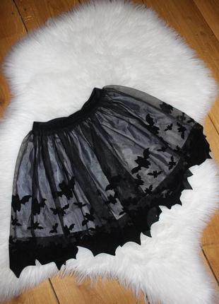 Нарядная юбка пачка h&m 2-4 года 98-104 рост