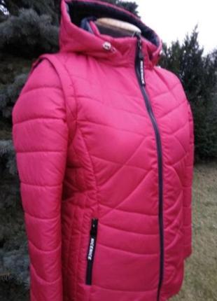 Куртка - жилет трансформер демисезонная