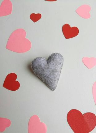Брошка серце, валентинка, брошь сердце, сердечко, подарок для влюбленных, пин, значок!