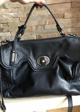 Шикарная кожаная сумка cromia оригинал