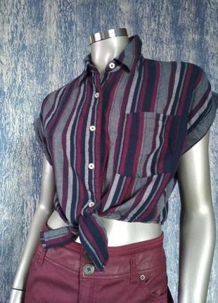 Укороченный топ/футболка/блузка