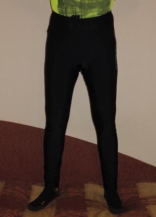 Вело штаны с памперсом dunlop р.l