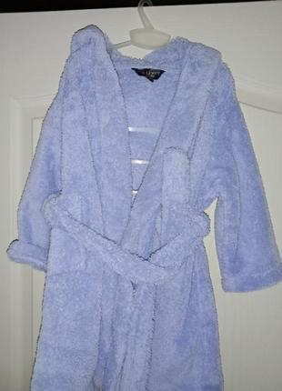 Теплый махровый плюшевый халат мягусенький