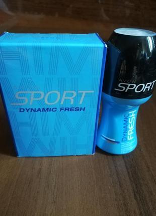 Парфюмированный набор sport dynamic fresh