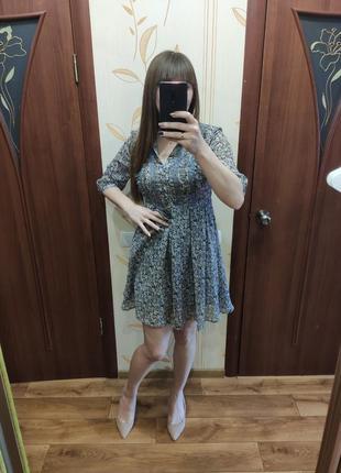 Плаття next, платье цветочное, цветочный принт