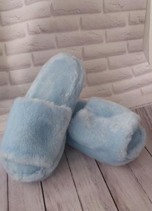 Тапочки для дома женские меховые тапки