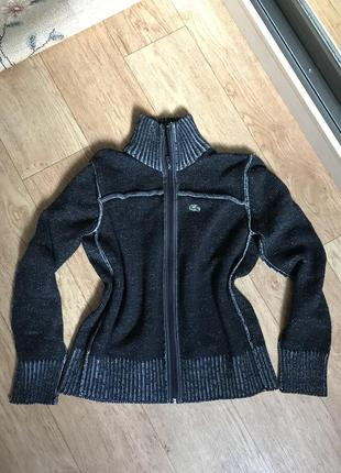 Кофта lacoste свитер