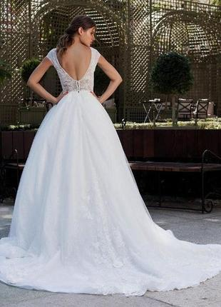 Безупречное свадебное платье {kokos}