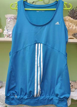 Спортивная майка adidas. uk12. оригинал