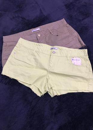Джинсовые шорты короткие летние