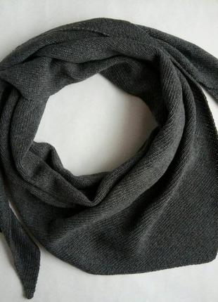 Косынка, бактус, косинка, шарф, снуд, хомут, хустка, сірий, серый, на осень и зиму!