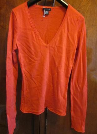 Кашемировый тонкий свитер lauren hansen размер xs
