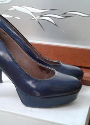 Туфли bronx из натуральной кожи