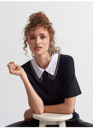 Чёрная блузка dilvin