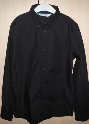 Рубашка h&m р.146см(10-11см)