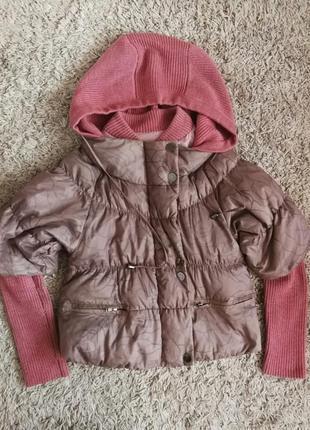 Демисезонная курточка на синтепоне для беременных