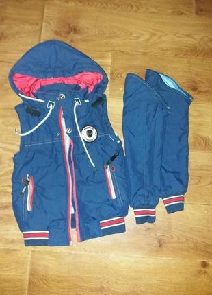 Демисезонная куртка - желетка !3 фото